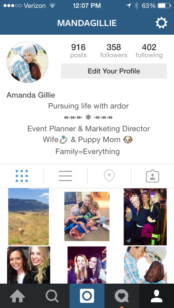 Personalize Your Instagram
